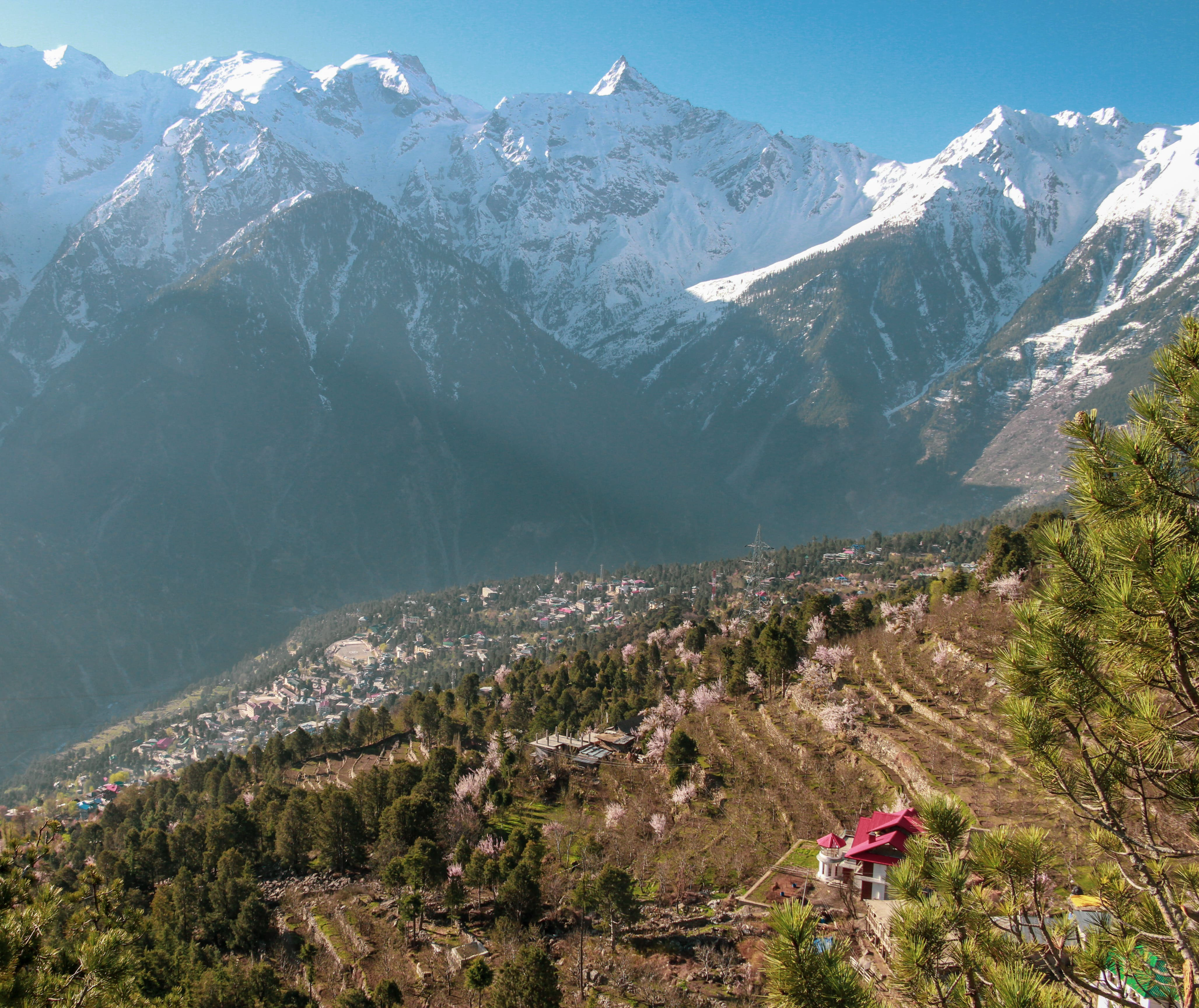 Reckong Peo in a picture from Kalpa Valley